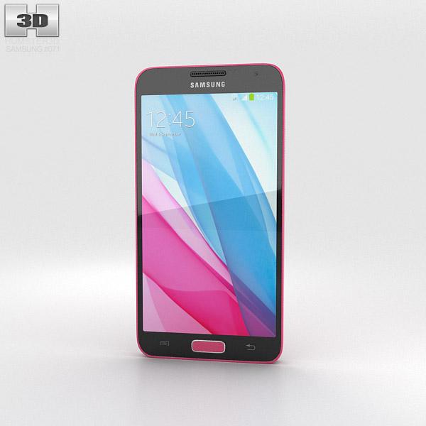 Samsung Galaxy J Pink 3d model