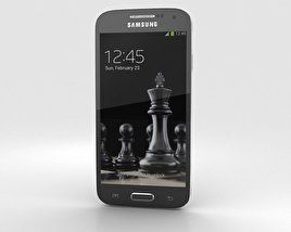 3D model of Samsung Galaxy S4 Mini Black Edition
