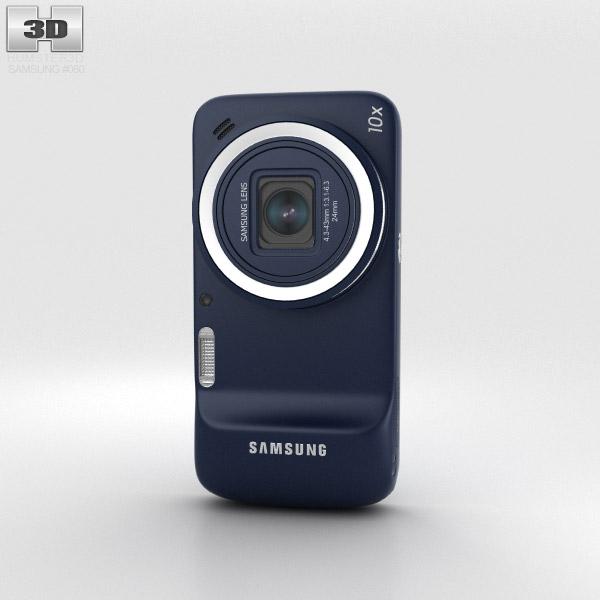 Samsung Galaxy S4 Zoom Black 3d model