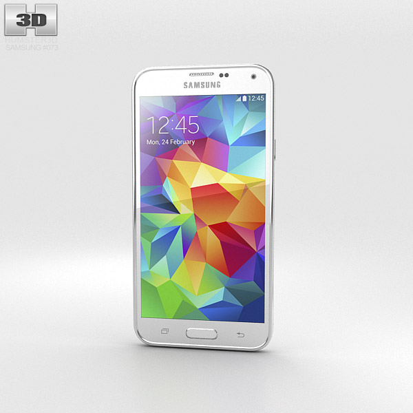 Samsung Galaxy S5 White 3d model
