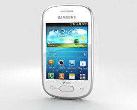 3D model of Samsung Galaxy Star White