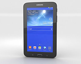 3D model of Samsung Galaxy Tab 3 Lite Black