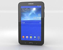 Samsung Galaxy Tab 3 Lite Black 3D model