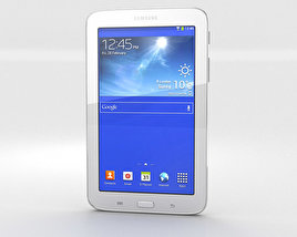 3D model of Samsung Galaxy Tab 3 Lite White