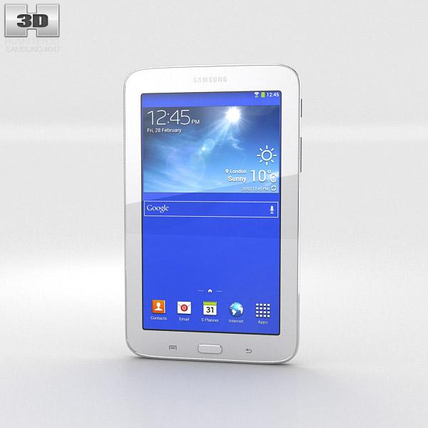 Samsung Galaxy Tab 3 Lite White 3d model