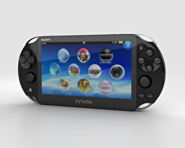 3D model of Sony PlayStation Vita Slim
