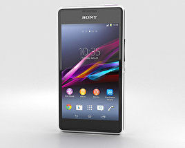3D model of Sony Xperia E1 White