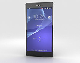 3D model of Sony Xperia T2 Ultra Black