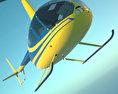 Robinson R44 Raven 3d model