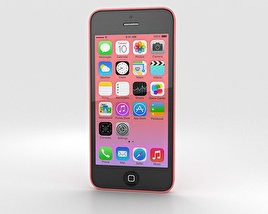 3D model of Apple iPhone 5C Pink