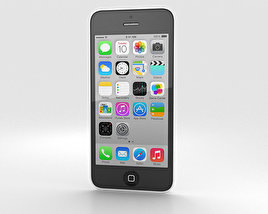 3D model of Apple iPhone 5C White