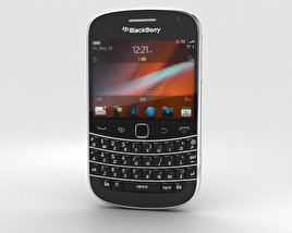 BlackBerry Bold 9900 Black 3D model