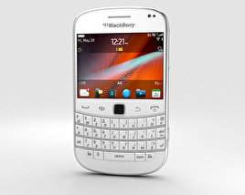 3D model of BlackBerry Bold 9900 White