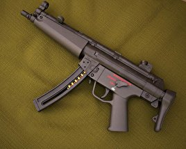 3D model of Heckler & Koch MP5