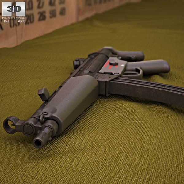 Heckler & Koch MP5 3d model