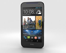 3D model of HTC Desire 310 Blue
