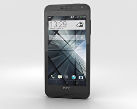 3D model of HTC Desire 610 Black