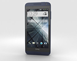 3D model of HTC Desire 610 Blue