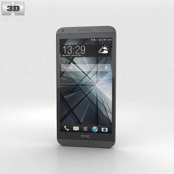 HTC Desire 816 Gray 3d model