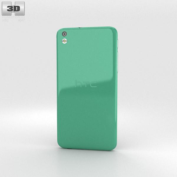 HTC Desire 816 Green 3d model