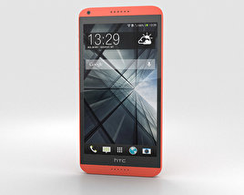 3D model of HTC Desire 816 Red
