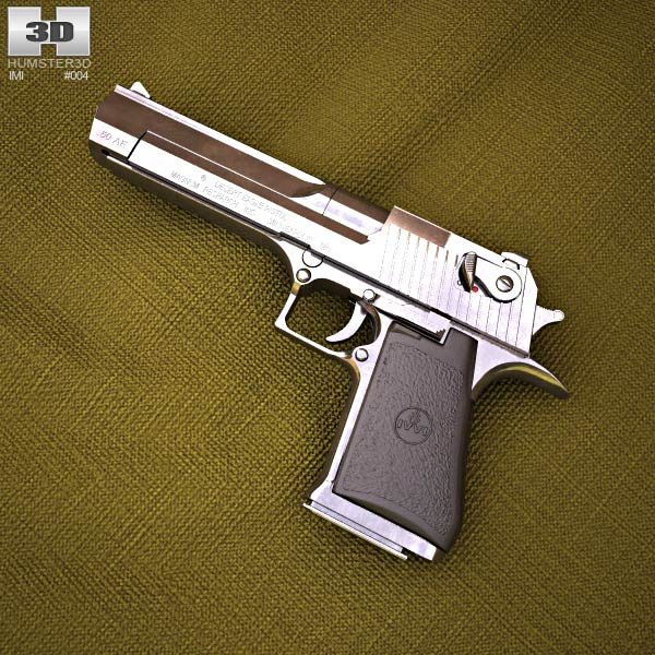 3D model of IMI Desert Eagle