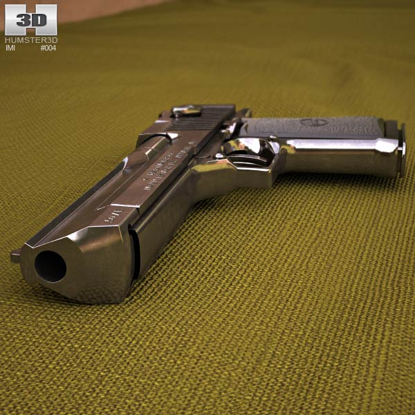 IMI Desert Eagle 3d model