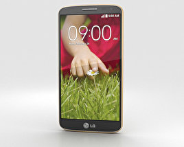 3D model of LG G2 Mini Gold