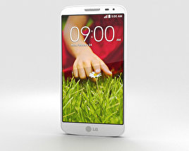 3D model of LG G2 Mini Lunar White