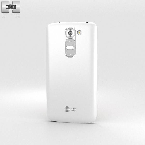 LG G2 Mini Lunar White 3d model