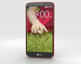 3D model of LG G2 Mini Red