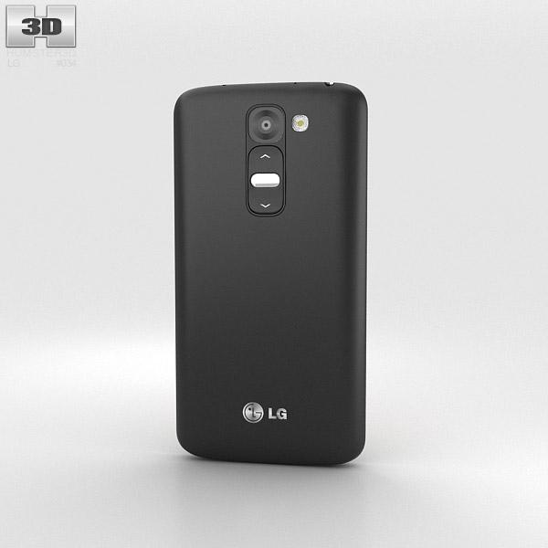 LG G2 Mini Titan Black 3d model