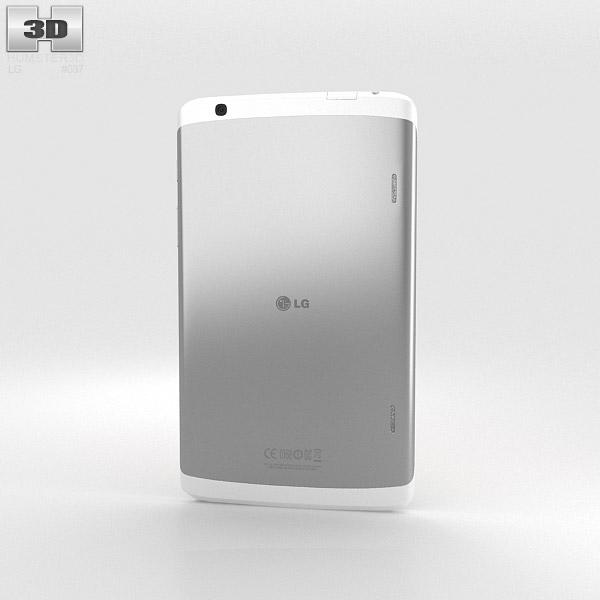 LG G Pad 8.3 inch White 3d model