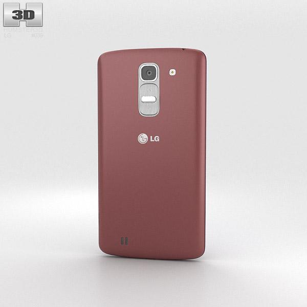 LG G Pro 2 Red 3d model