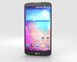 3D model of LG G Pro 2 Silver