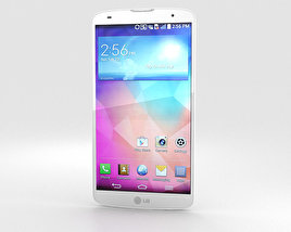 3D model of LG G Pro 2 White