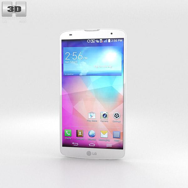 3D model of LG G Pro 2 White