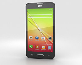 3D model of LG L70 Black