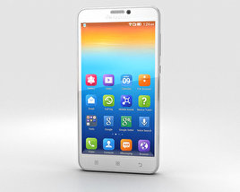 3D model of Lenovo S850 White