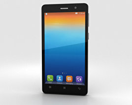 3D model of Lenovo S860 Black