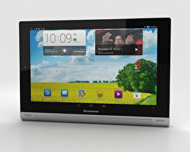 3D model of Lenovo Yoga Tablet 10 HD+ Silver