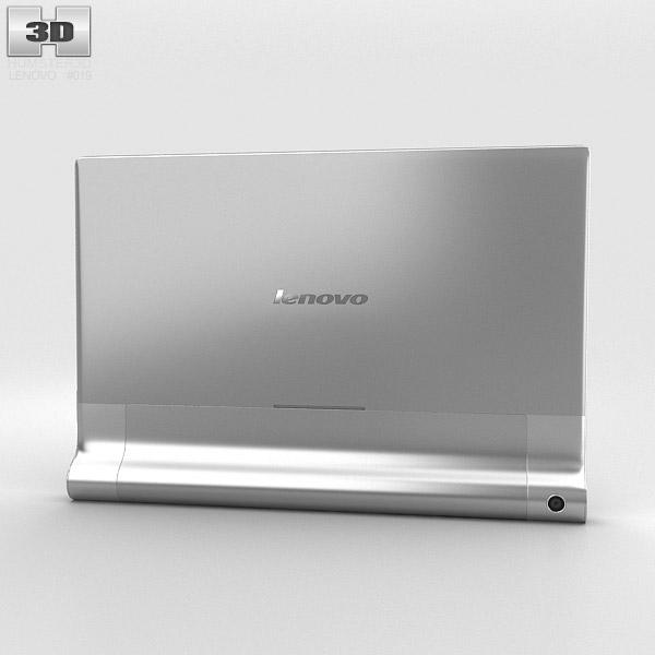 Lenovo Yoga Tablet 10 HD+ Silver 3d model