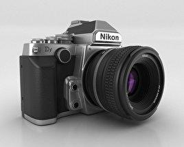 3D model of Nikon DF Silver