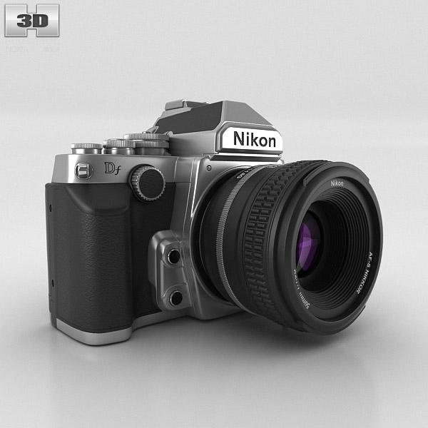 Nikon DF Silver 3D model