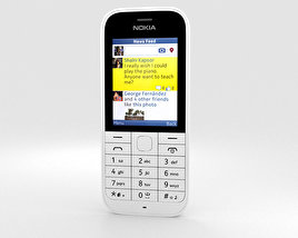 3D model of Nokia 220 White