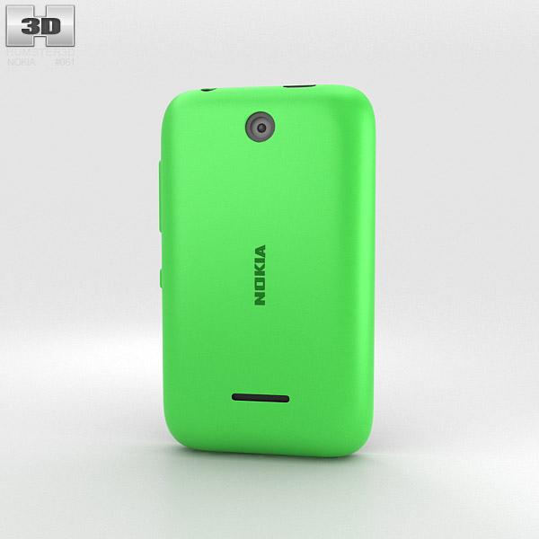Nokia Asha 230 Bright Green Modelo 3D