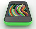 Nokia Asha 230 Bright Green 3d model