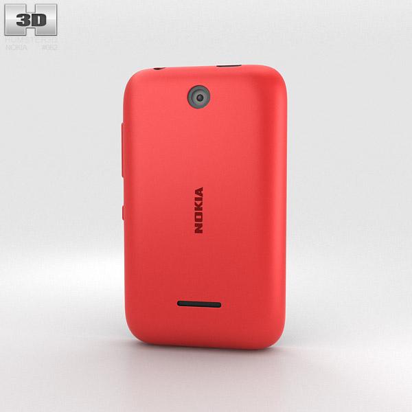 Nokia Asha 230 Bright Red 3d model