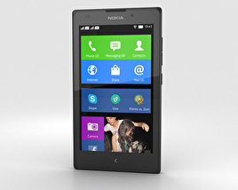 3D model of Nokia XL Black