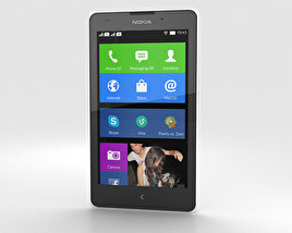 3D model of Nokia XL White